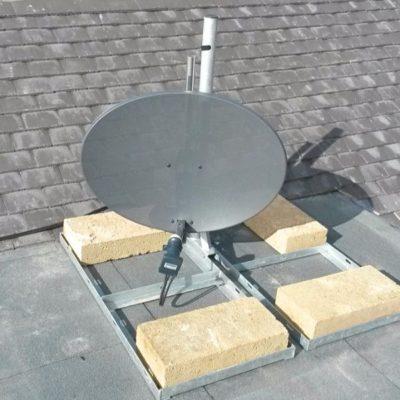 Sky-Dish-Flat-Roof